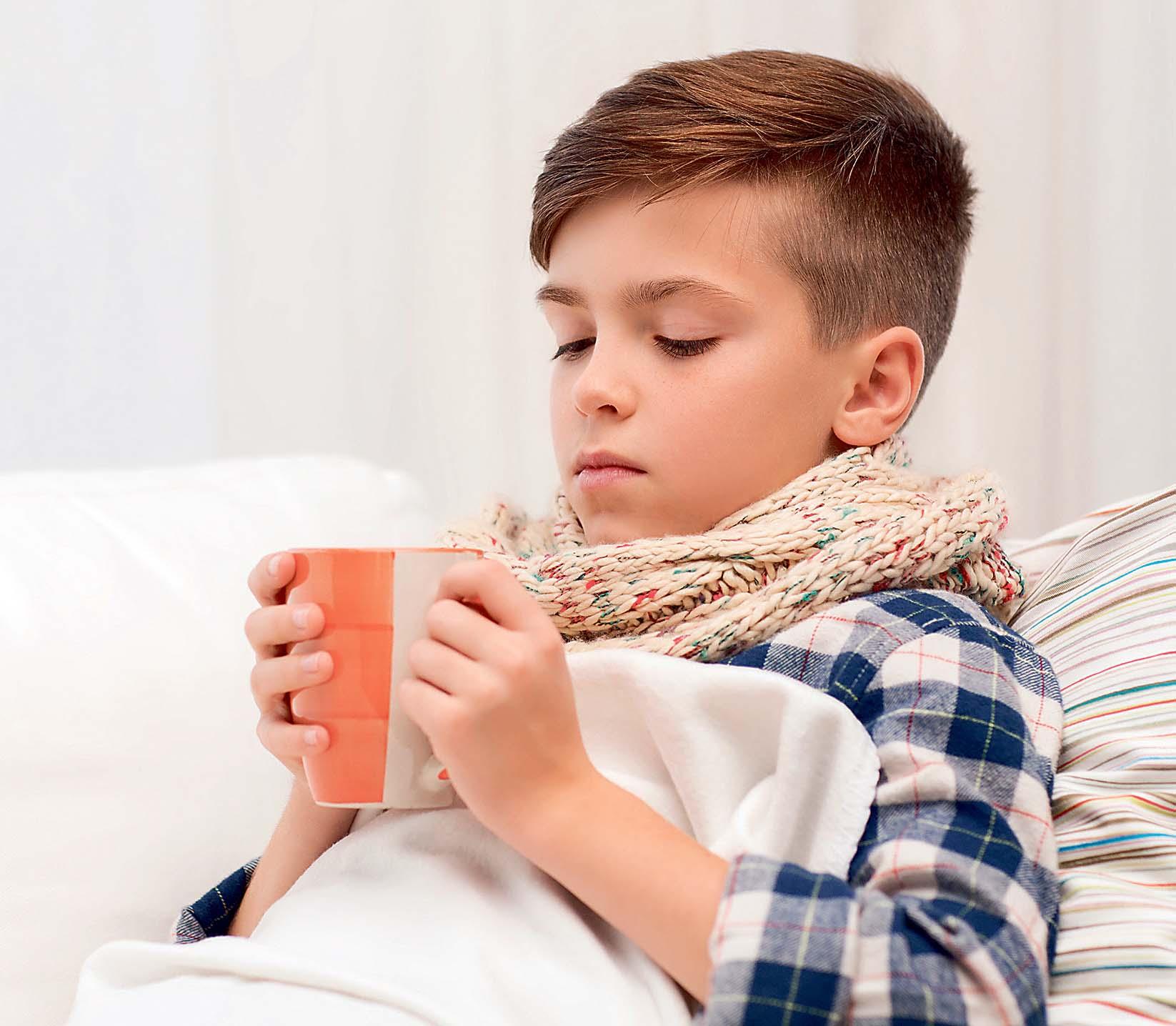 Erkältetes Kind (Foto: istockphoto.com©dolgachov)